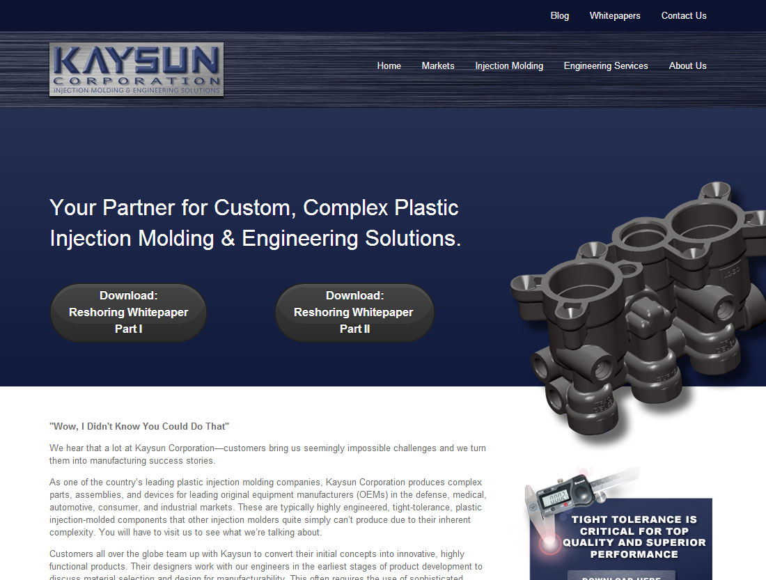 Kaysun Corporation website