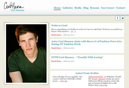 Curt Hansen website