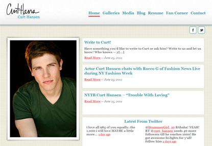 Curt Hansen website