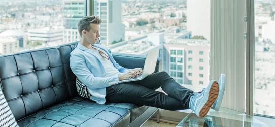 Cool Guy with a SaaS Marketing Budget