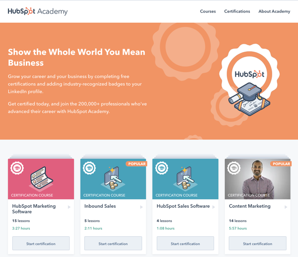 Free Education_HubSpot Academy