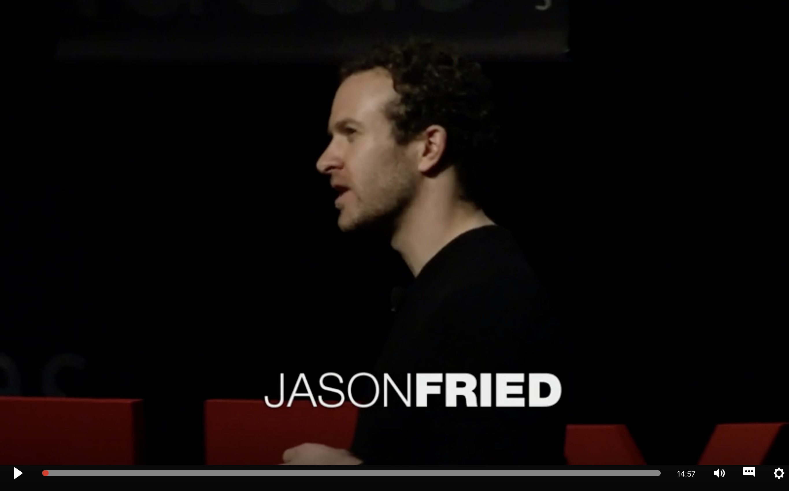 Jason Fried Thought Leadership