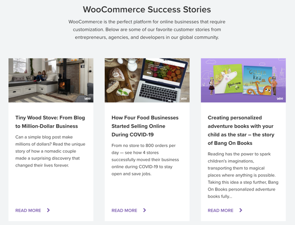 WooCommerce Customer Success Stories