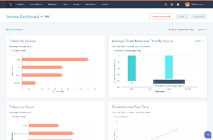 Service-reporting-dashboard